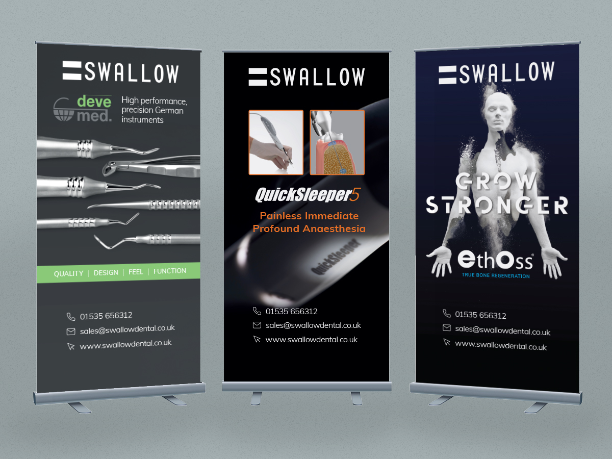 Swallow Dental Banners